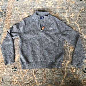 Vineyard Vines boys gray sweater Size 5